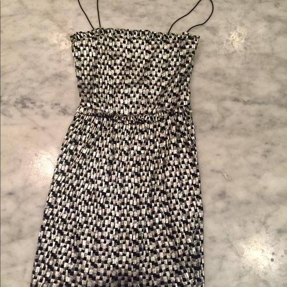 560903a0 Zara black and silver sparkly dress. M_5b5328bf7c979db0e8ebb8f0